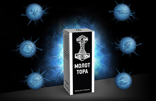 Капли Молот Тора (упаковка)