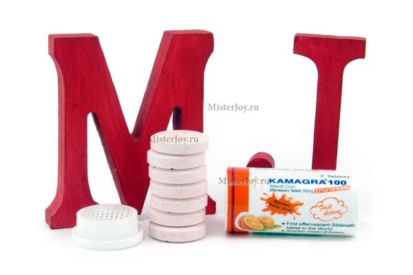 Kamagra effervescent – это растворимые шипучие таблетки силденафила с апельсиновым вкусом