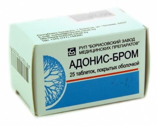 Упаковка Адонис-Бром