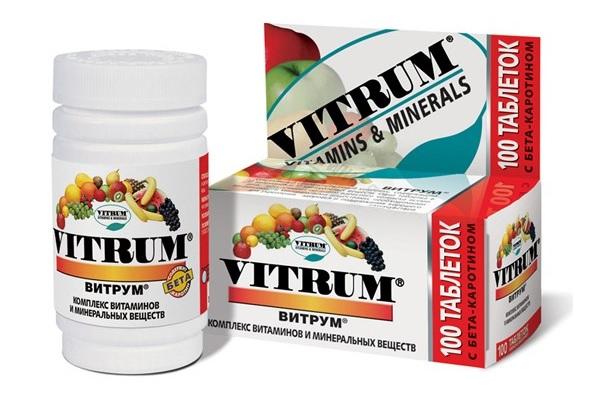 Витрум - витамины для потенции