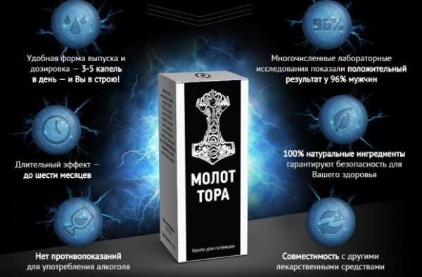 Препарат Молот Тора