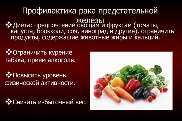 Зож рецепты от рака простаты